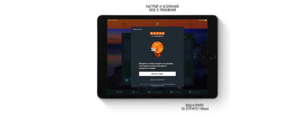 iPad 10.2 2019 защита данных