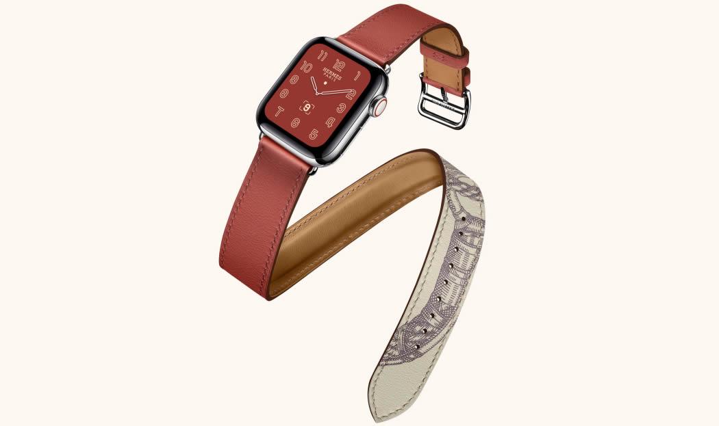 Apple Watch Series 5 Hermes двойной ремешок
