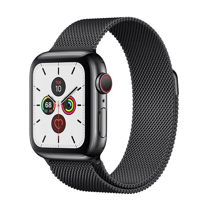 Apple Watch Series 5 Milanese Loop Space Black 40mm