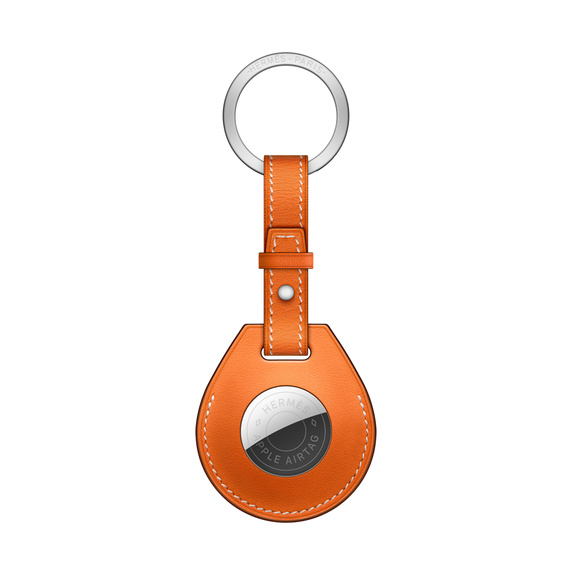 Брелок AirTag Hermès с кольцом для ключей