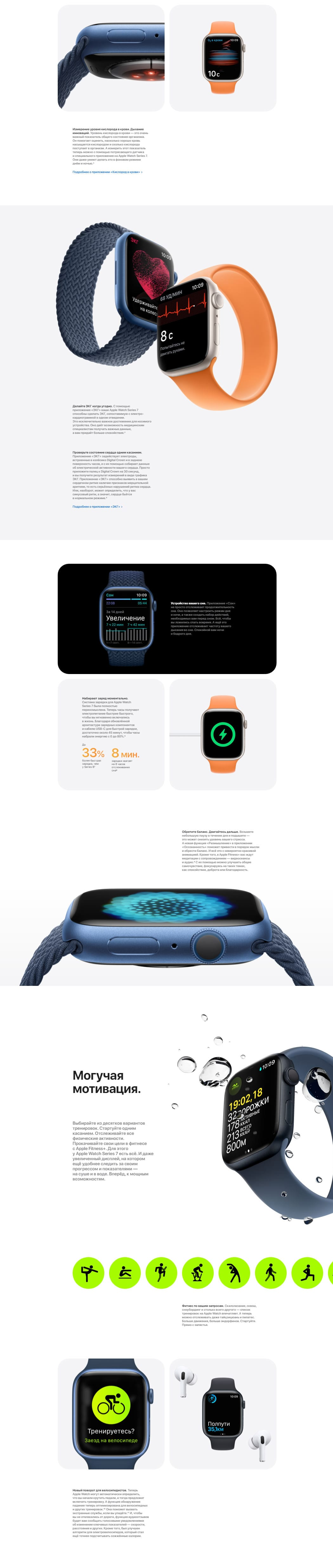 Apple Watch S7 новинка 2021