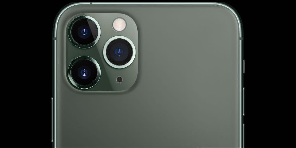 iPhone 11 Pro крупный план сзади