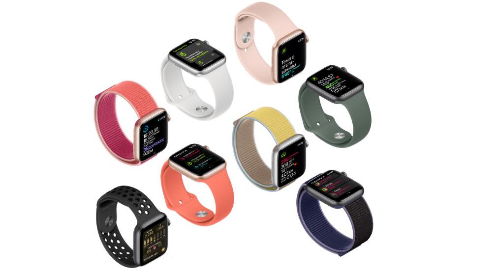 Apple Watch Series 5 фитнес цели