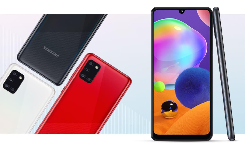 Samsung Galaxy A31 цена