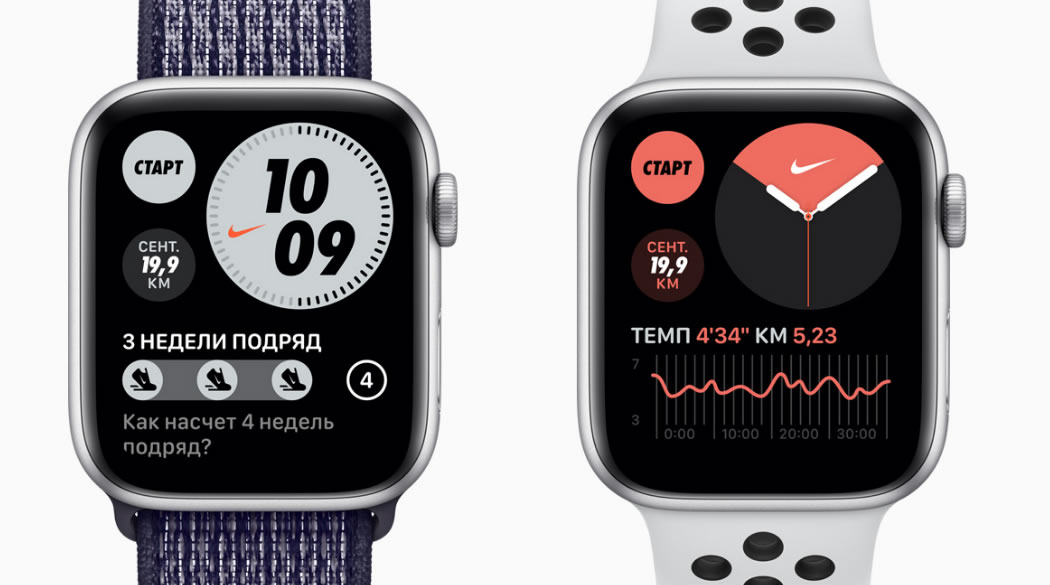 Apple Watch Series 6 Nike цена