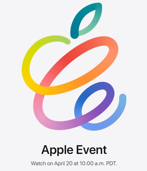 презентация Apple 2021 весна 20 апреля