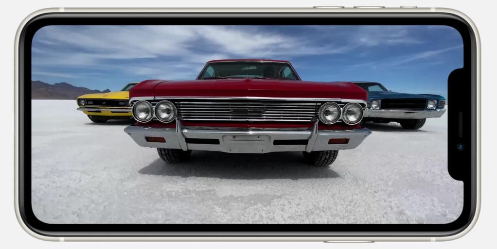 iPhone 11 видео высокого качества