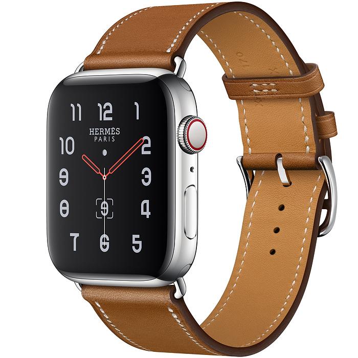 Apple Watch Hermes Series 5 44mm Fauve Leather Single Tour