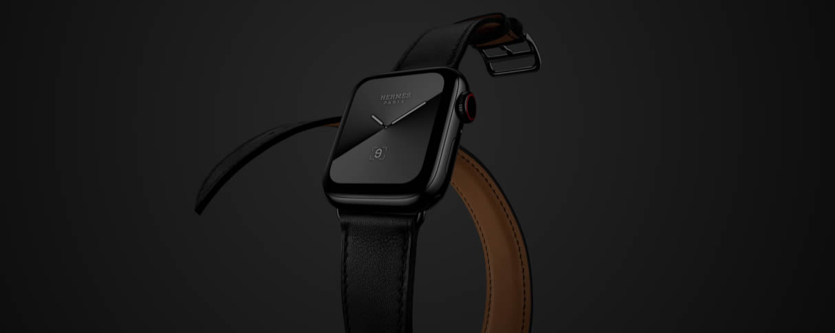 Apple Watch Series 5 Hermes черные