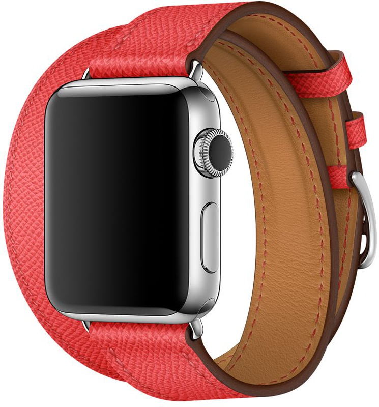 Apple Watch Hermes Series 6 40mm Rose with Double Tour